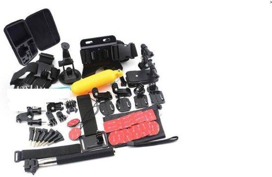 44 In 1 Accessoires Set voor GoPro Hero 4 5 6 Xiaomi SJCAM EKEN - Groot set inclusief koffer