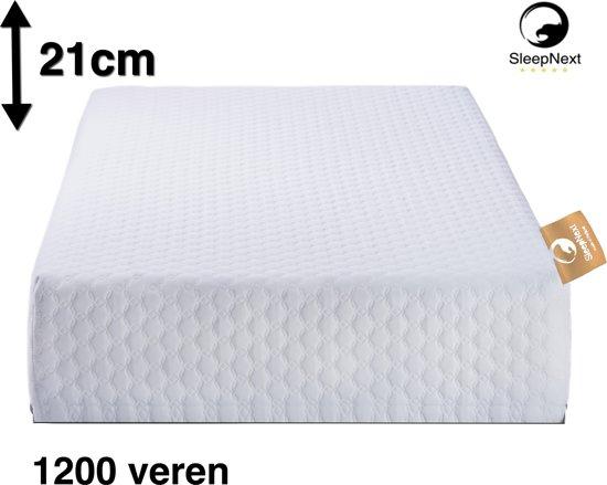 Stevig Matras 1200 micro veren tot 120kg - 180x200cm - Kingsize