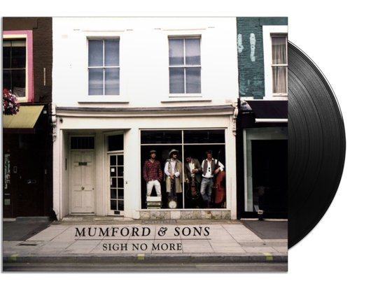 CD cover van Sigh no more (LP) van Mumford & Sons