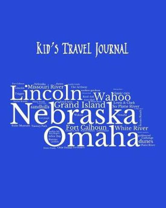 Nebraska Kid's Travel Journal