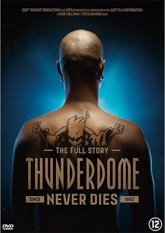 DVD cover van Thunderdome Never Dies