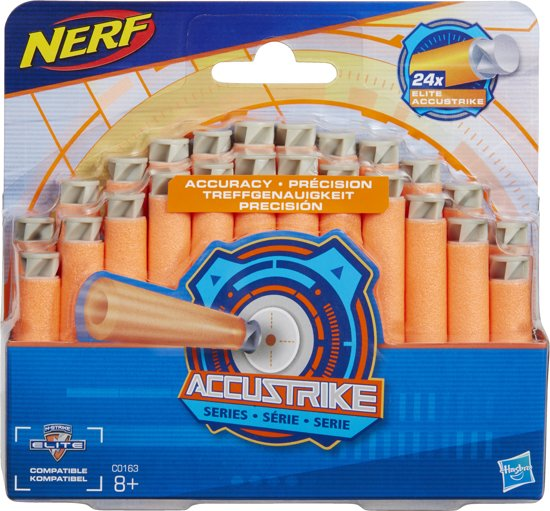 NERF N-Strike Elite AccuStrike 24 Darts - Refill
