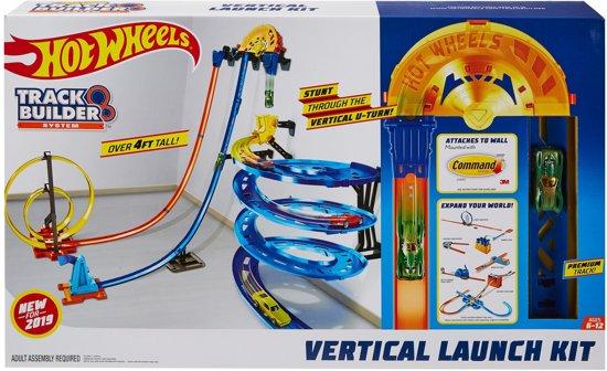 Hot Wheels Track Builder Verticale Lanceerset - Racebaan