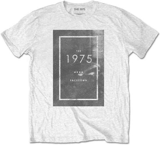 The 1975 Heren Tshirt -XXL- Facedown Wit