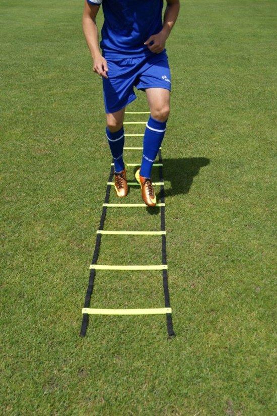 Loopladder, speedladder, agility ladder met vaste treden 8 meter