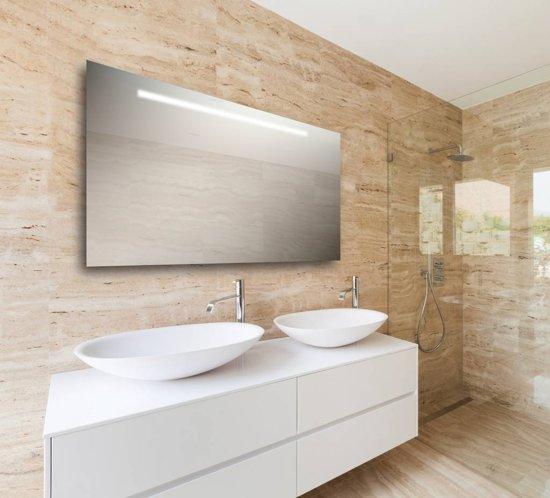 Spiegel met led verlichting horizontaal 60x120 cm for Spiegel 60x120
