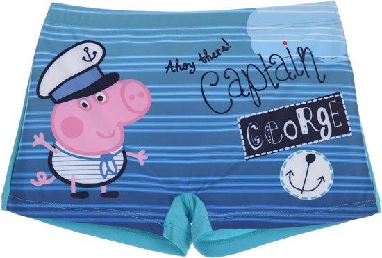 Blauwe Zwembroek.Bol Com Blauwe Zwembroek Van Peppa George Maat 98 Captain