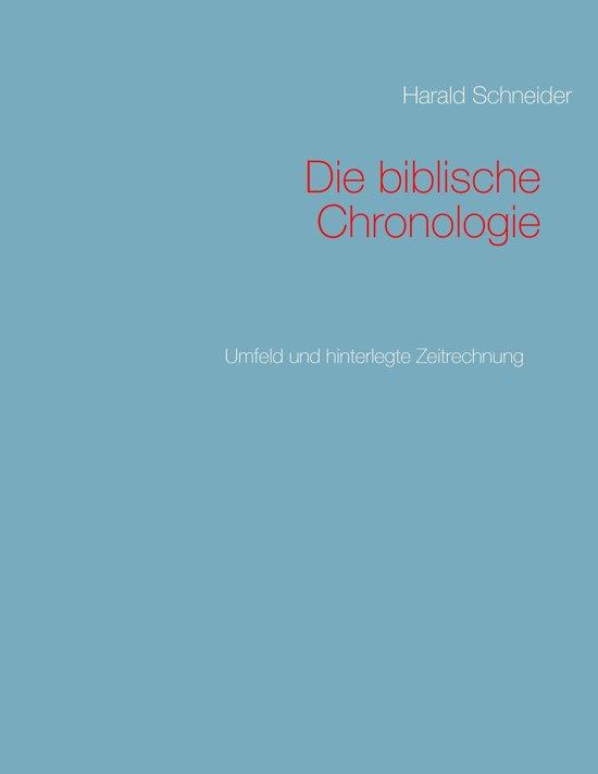 Die biblische Chronologie