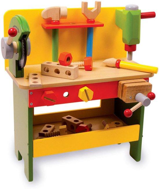 base toys houten werkbank christian base toys speelgoed. Black Bedroom Furniture Sets. Home Design Ideas