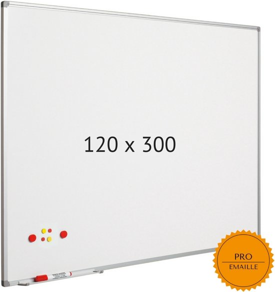 Smit Visual Whiteboard 120x300cm Softline