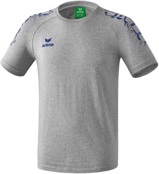 Erima Graffic 5-C T-Shirt - Shirts  - grijs - 128