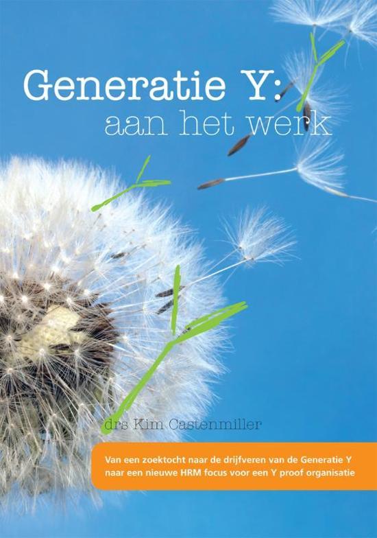 Generatie Y: aan het werk
