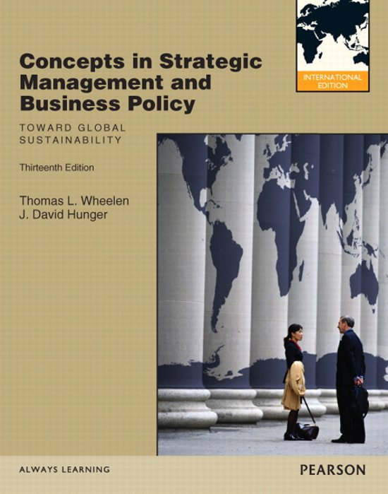 stategic management and business policy Strategy vs policy the success of a business is strongly linked to how the management of the company perceives the goals to be achieved and the ways.