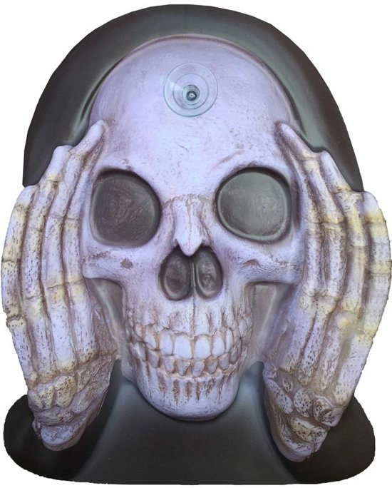 Haza Original Raamdecoratie Scary Peeper 40 Cm Reaper Cling