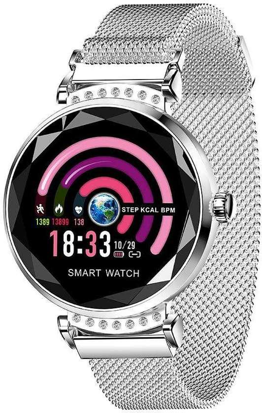 SmartWatch -Activity Tracker - Vrouwen Horloge - Zilverkleurig