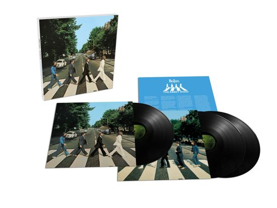 CD cover van Abbey Road 50th Anniversary Edition (3LP) van The Beatles