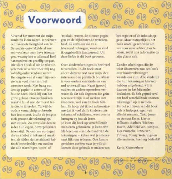Bolcom Kindertekeningen Karin Kloosterboer 9789027489722 Boeken