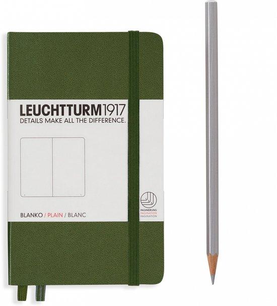 Leuchtturm1917 Notitieboek Pocket - Hardcover - Blanco - Army