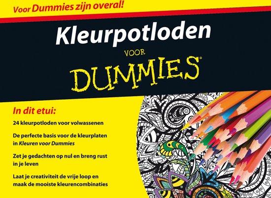 Kleurpotloden voor Dummies