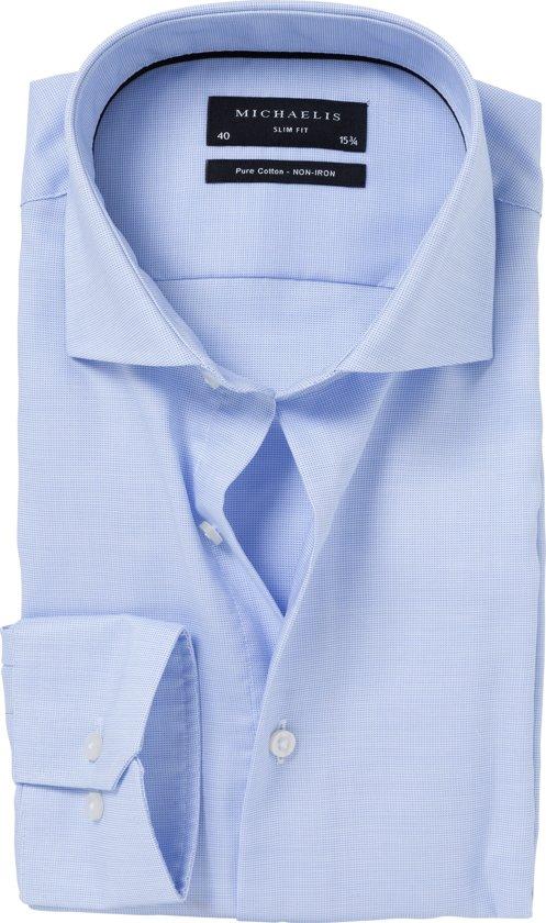 Overhemd Extra Lange Mouw.Bol Com Navy Birdseye Michaelis Overhemd Extra Lange Mouwen 41 7