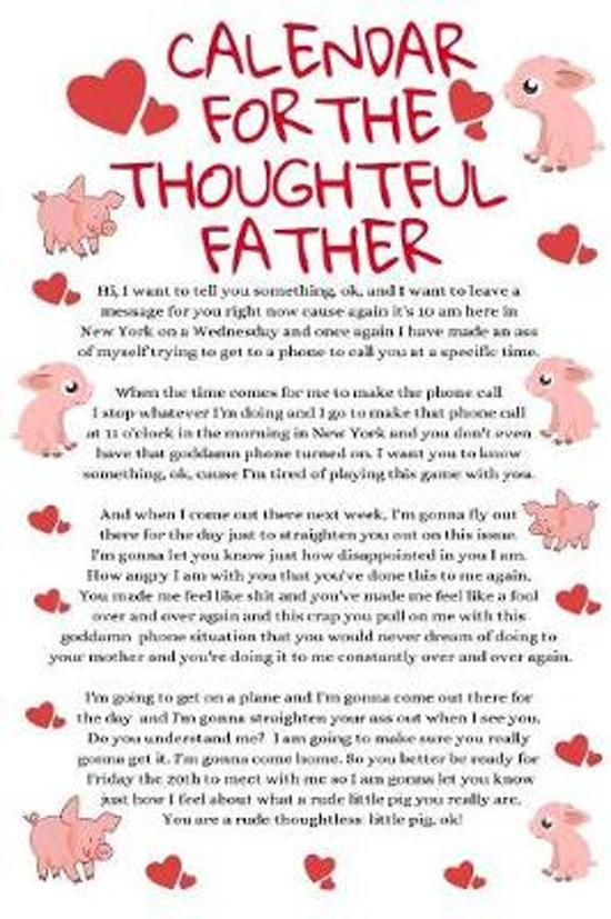 Calendar For The Thoughtful Father