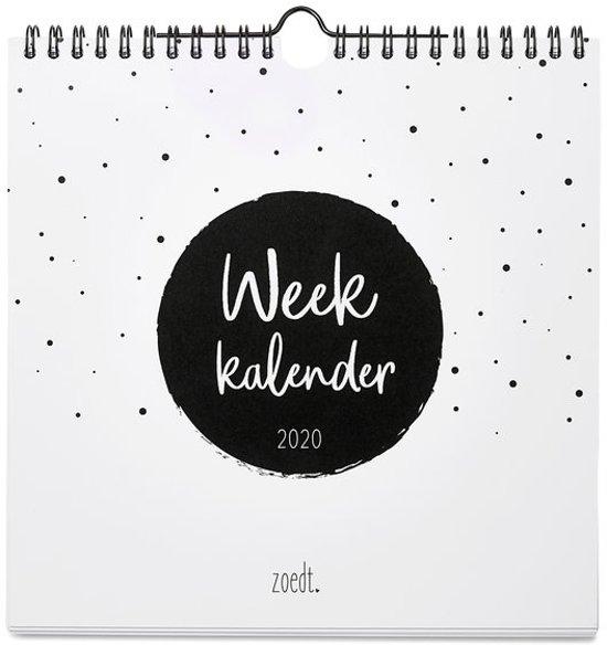 Weekkalender 2020 Zoedt