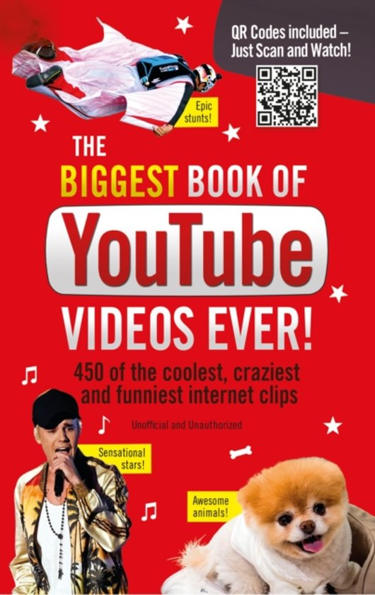 Image of: Crazy The Biggest Book Of Youtube Videos Ever Slideshare Bolcom The Biggest Book Of Youtube Videos Ever Robert Lodge
