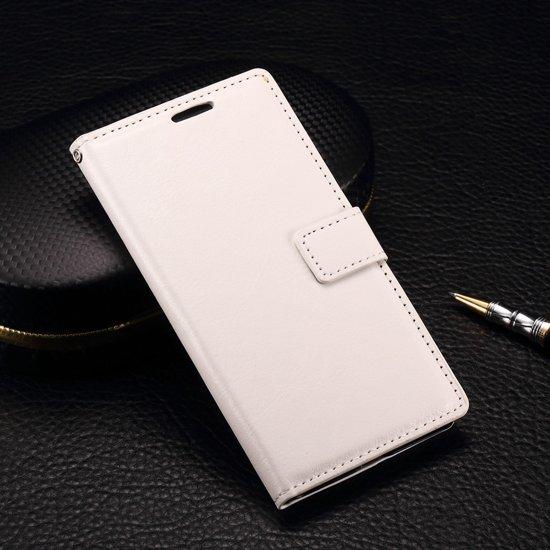 OnePlus X Book Case Hoesje - Wit in Nieuwland / Nylân
