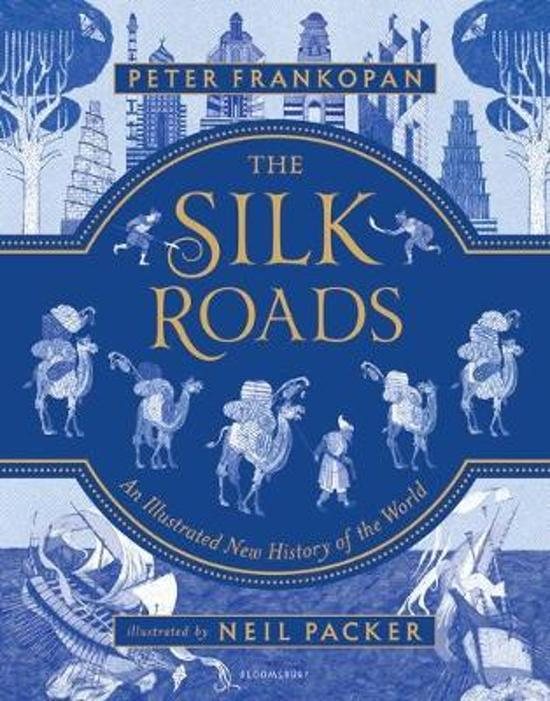 Boek cover The Silk Roads van Peter Frankopan (Hardcover)