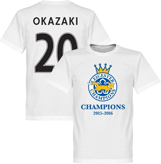 City 2016 shirtM Champions T Okazaki Leicester uJ5lK13FTc