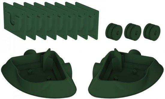 Verticale Tuin Systeem : Minigarden minigarden vertical zwart plantenbakken systeem