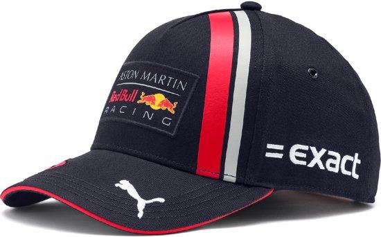 PUMA Red Bull Racing Replica Verst. BB Cap Jr Cap Kinderen - Night Sky-chinese Red