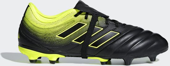 adidas Copa Gloro 19.2 Fg Voetbalschoenen Unisex - Core Black/Solar Yellow - Maat 41 1/3