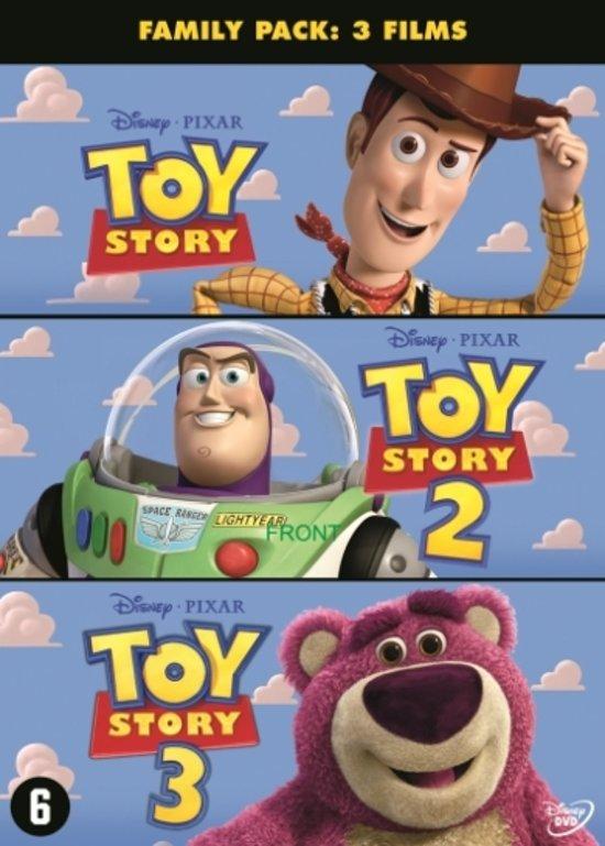DVD cover van TOY STORY TRILOGY DVD NL