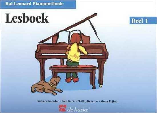 Hal Leonard Pianomethode - Lesboek Deel 1