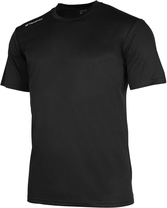 Stanno Field Shirt SS Sportshirt Heren - Black