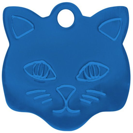 Kitty Kattenpenning Blauw