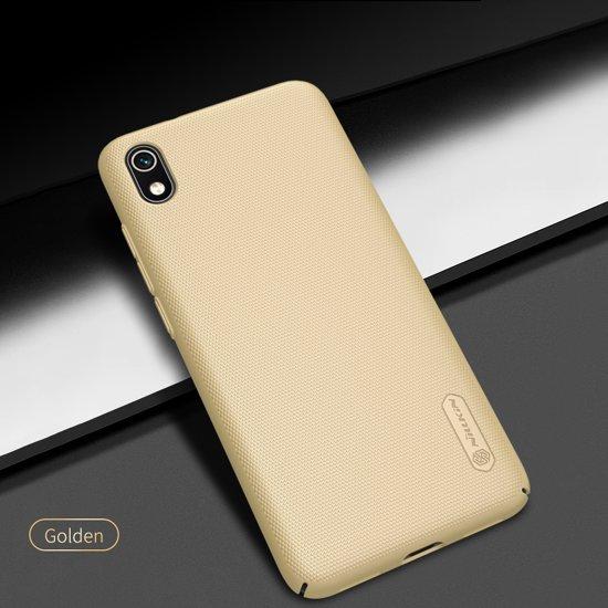 NILLKIN Frosted Shield Cover voor Xiaomi Redmi 7A Hoesje - Goud