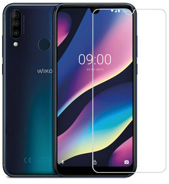 Wiko View 3 Pro - Tempered Glass Screenprotector - Case Friendly