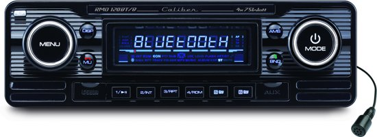 caliber rmd120bt b 1 din retro autoradio 4x. Black Bedroom Furniture Sets. Home Design Ideas