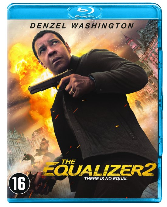 DVD cover van The Equalizer 2 (Blu-ray)