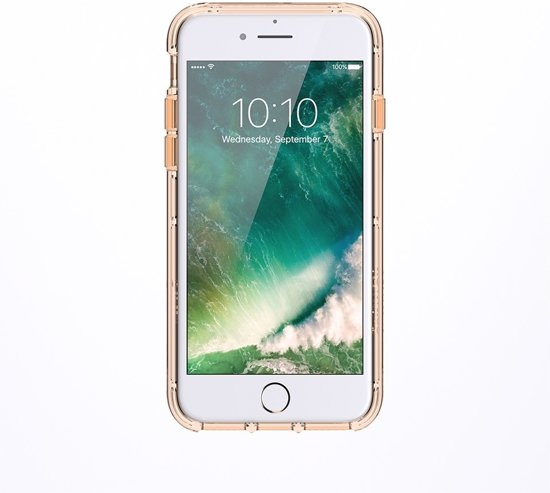 Griffin Survivor Clear iPhone 8/7/6/s Gold/White/Clear