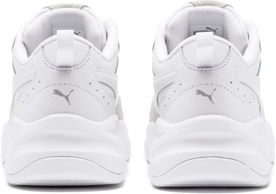 Puma Cilia Lux Dames Sneakers - White-puma Silver