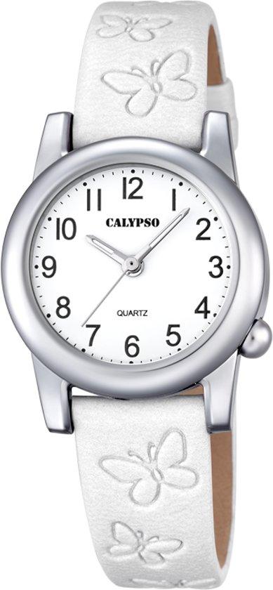 Calypso Kids K57111 Horloge Kunststof Wit 28.5 mm