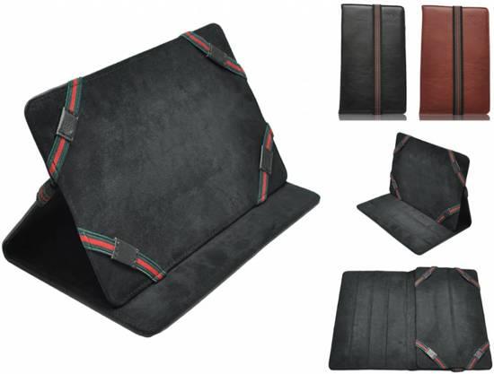 Luxe Hoes voor Hp Pro Tablet 608 G1 - Premium Cover, bruin , merk i12Cover