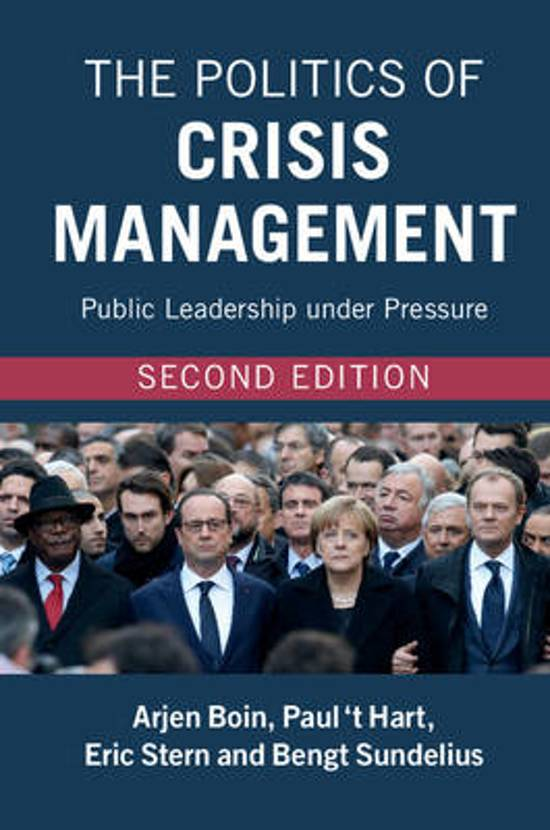 Boek cover The Politics of Crisis Management van Arjen Boin (Paperback)