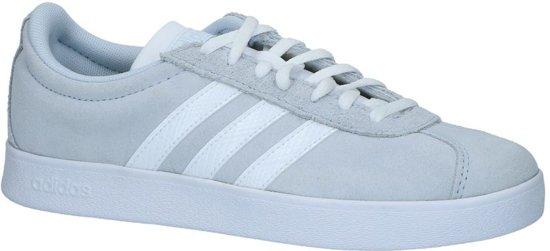 5704eceef6a bol.com   Lichtgrijze adidas VL Court 2.0 Sneakers