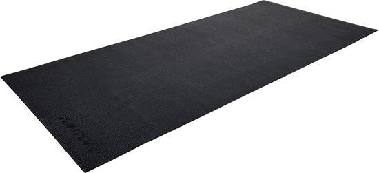 Tunturi Hardloopband mat - Vloerbeschermmat - 200 x 95 x 0,5cm - Zwart