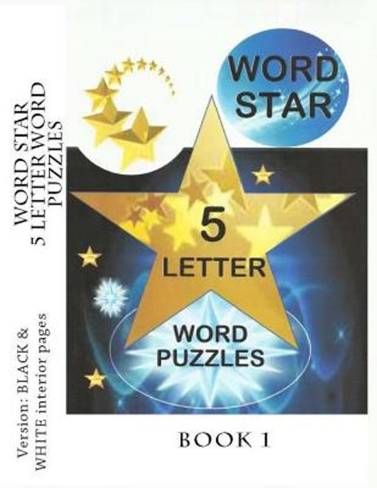 Bol Word Star 5 Letter Word Puzzles Book 1 9781495445156