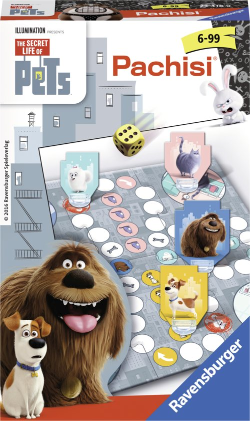 Ravensburger Secret Life of Pets Pachisi® - pocketspel